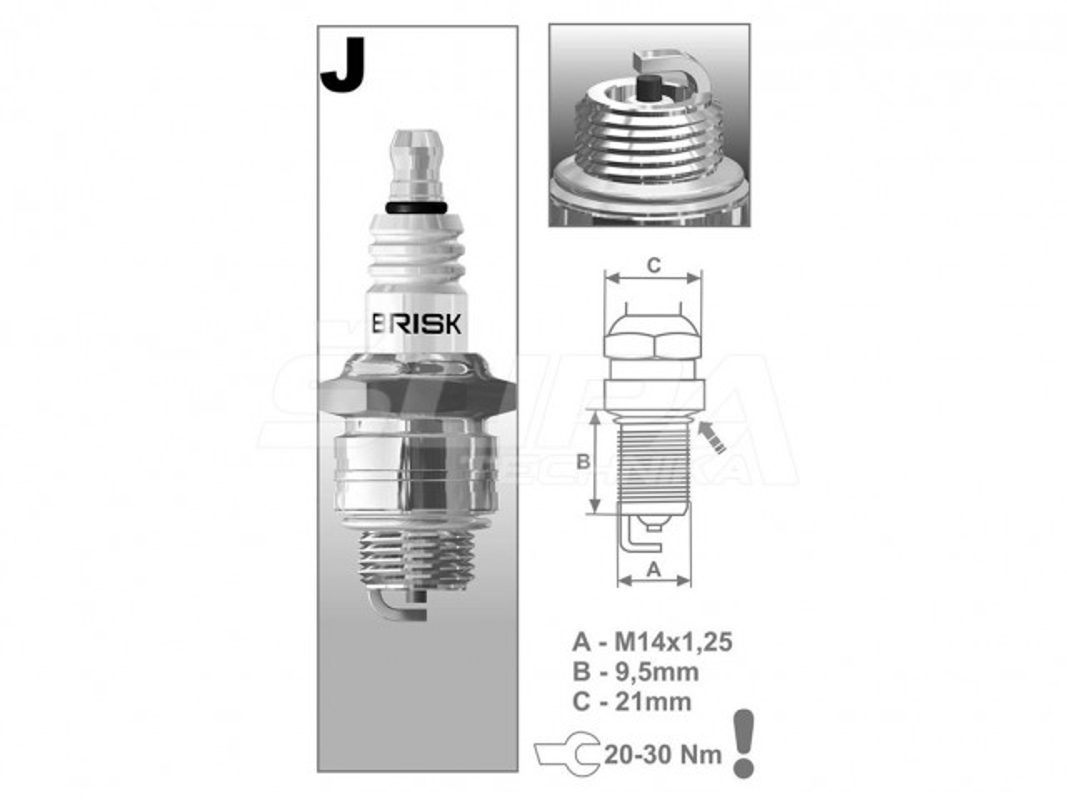 SVIECKA BRISK JR19 4-TAKT B/S