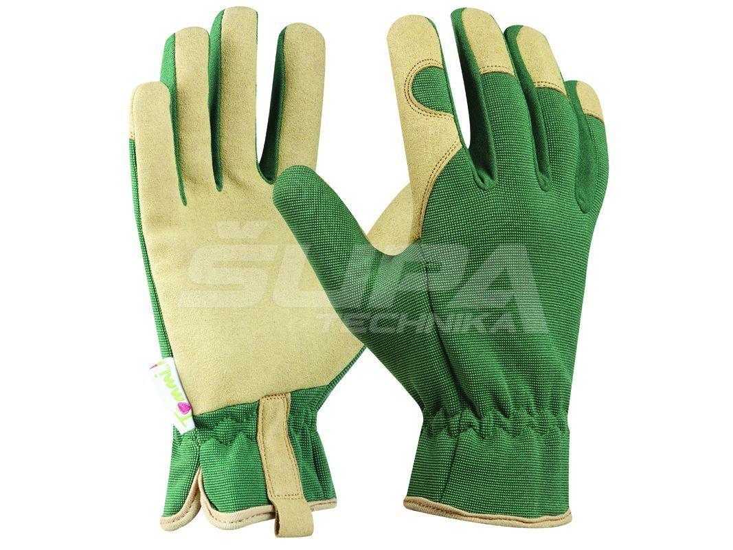 Záhradné rukavice GEBOL Tommi Walnuss veľ. XL