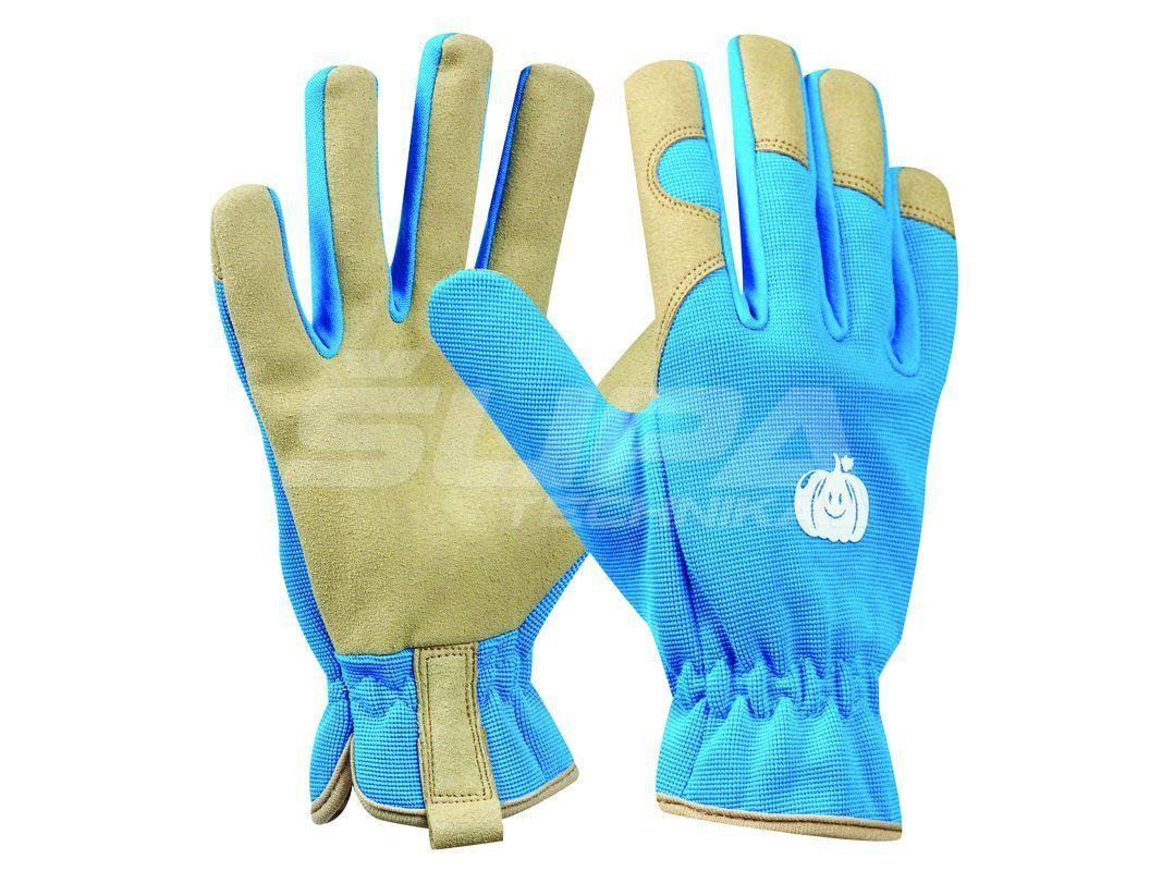 Záhradné rukavice GEBOL Tommi Kurbis blau