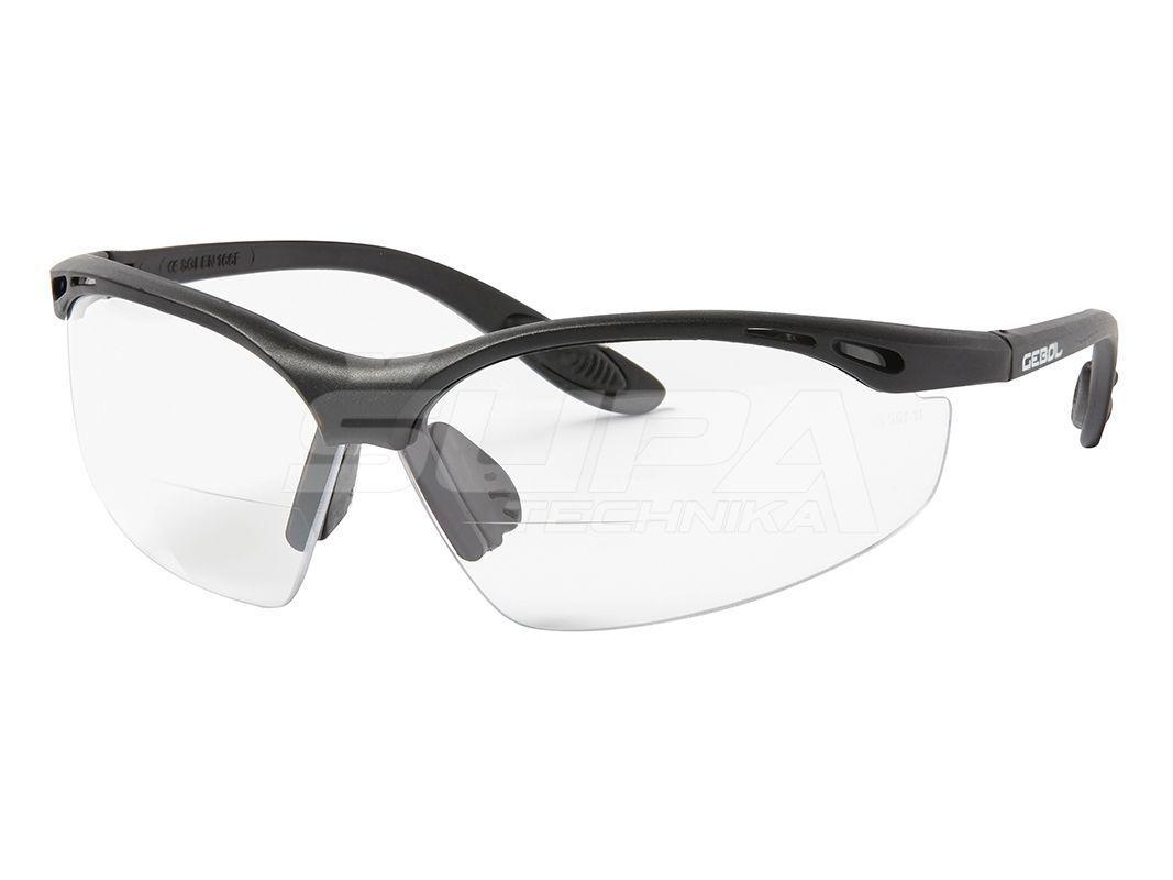 Ochranné okuliare dioptické GEBOL Reader +1,5