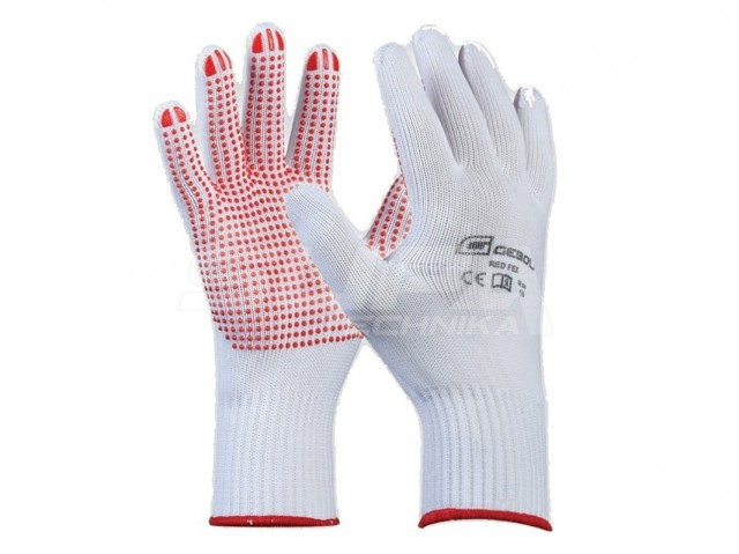 Pracovné rukavice GEBOL Red Flex č.8