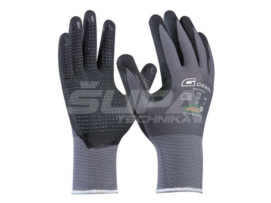 Pracovné rukavice GEBOL Multi-Flex č.10