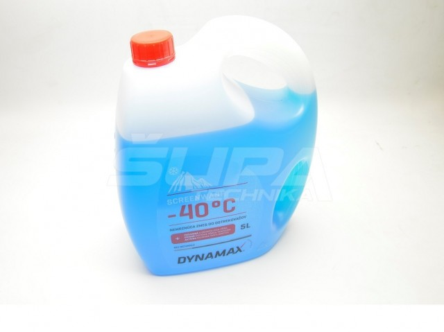 VODA DO OSTREKOVACOV DYNAMAX SCREENWASH -40 5L