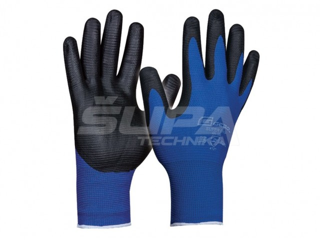 Pracovné rukavice GEBOL Super Grip č.9