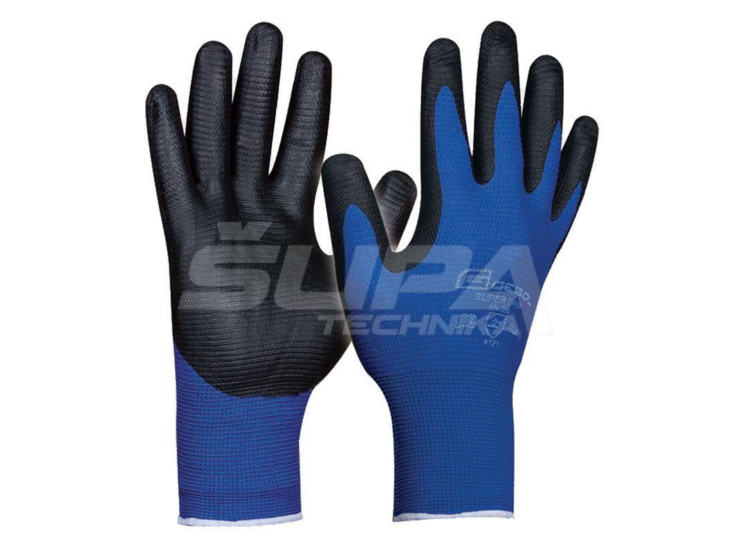 Pracovné rukavice GEBOL Super Grip č.10
