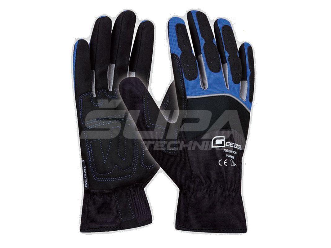 Pracovné rukavice GEBOL Anti shock č.10