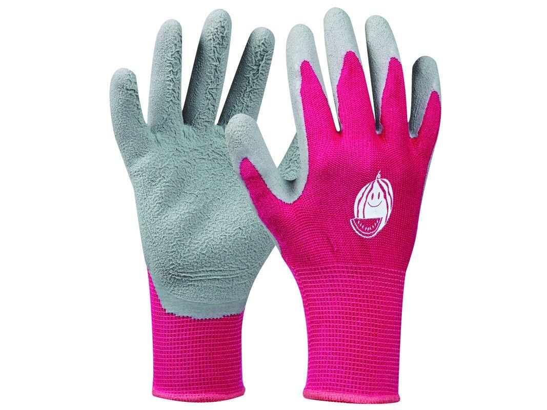 Záhradné rukavice GEBOL Tommi Melone pink