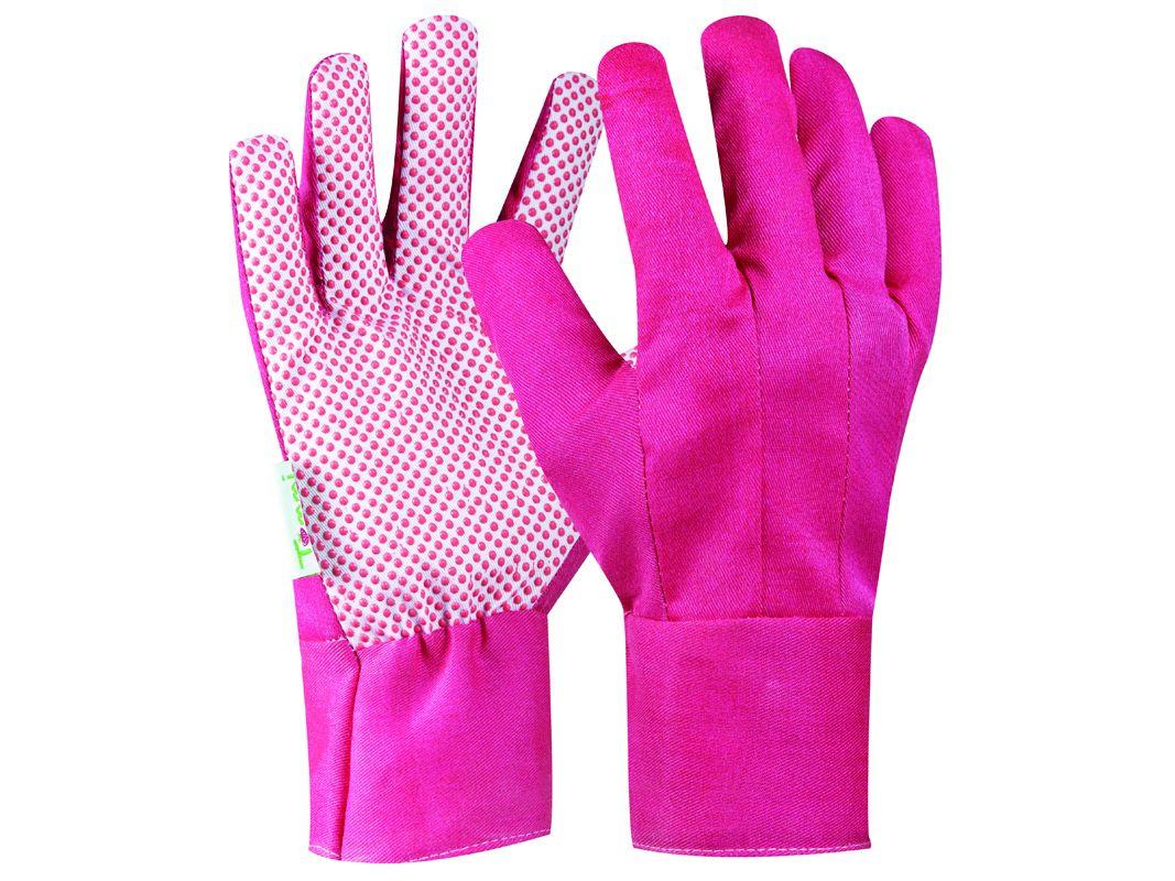 Záhradné rukavice GEBOL Tommi Pflaume veľ. L