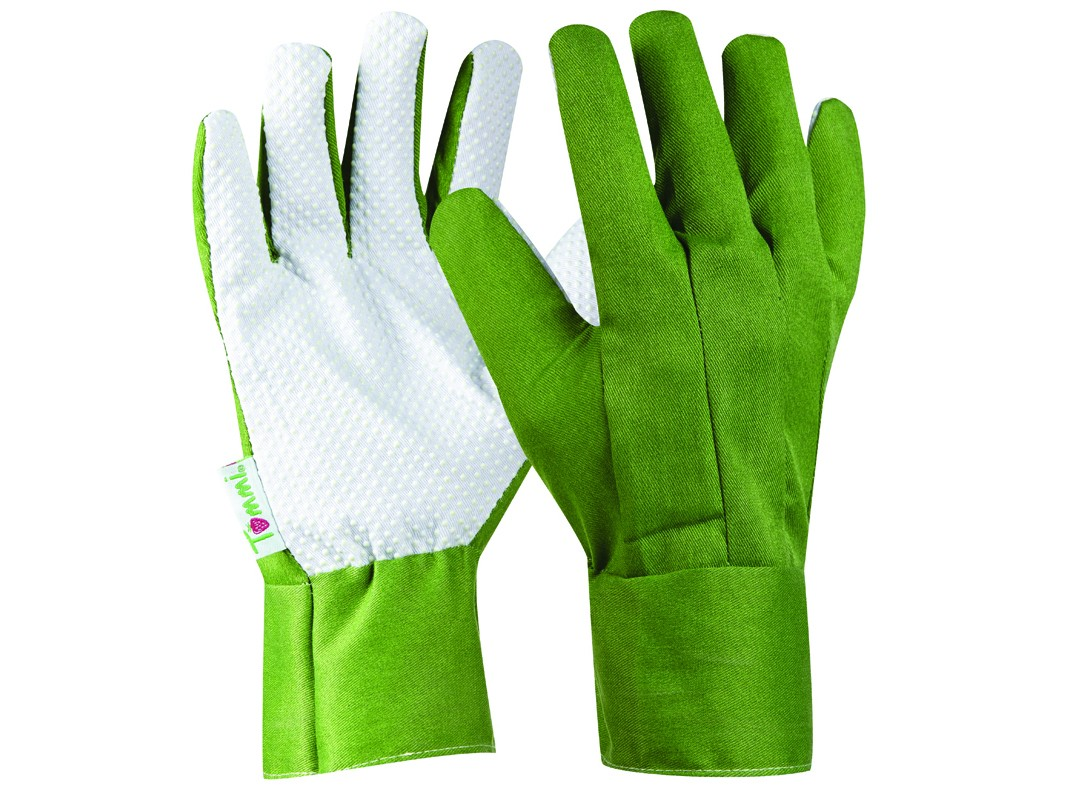Záhradné rukavice GEBOL Tommi Pflaume veľ. XL