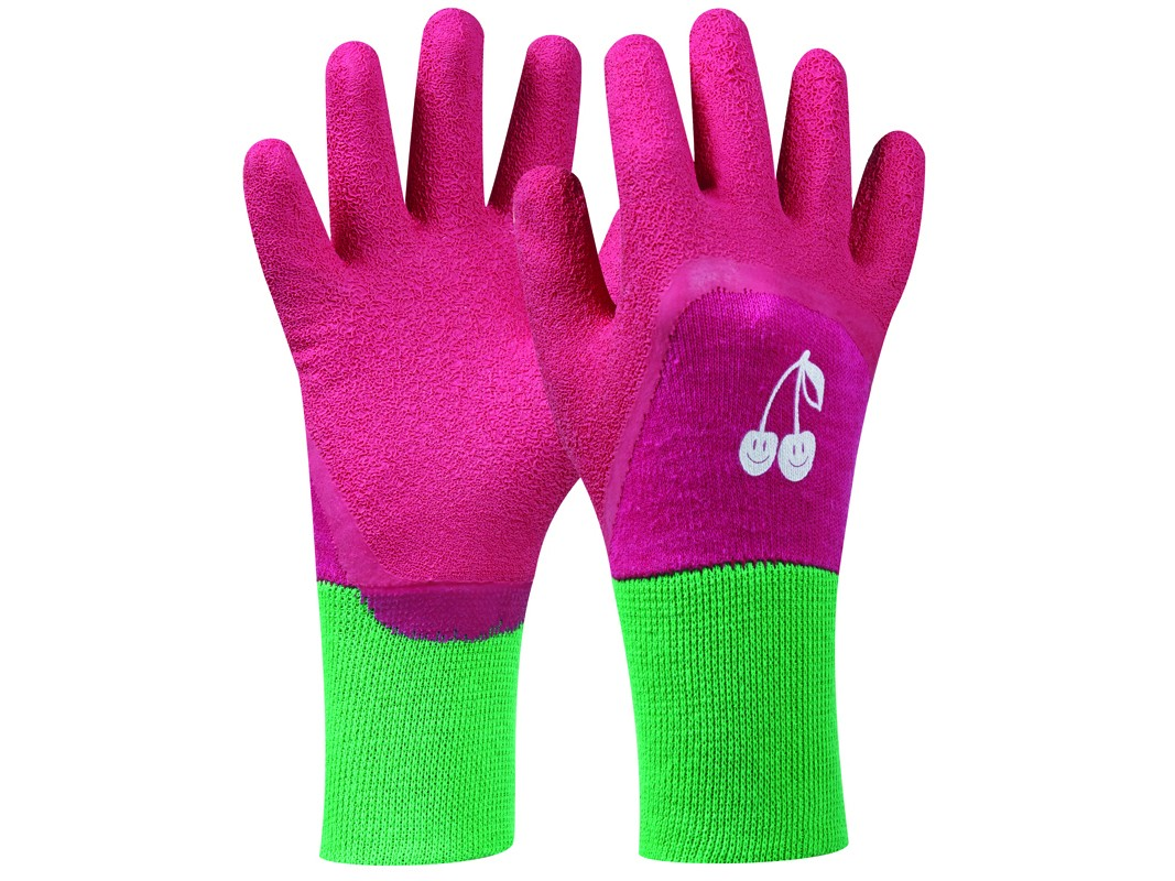 Záhradné rukavice GEBOL Tommi Kirsche pink