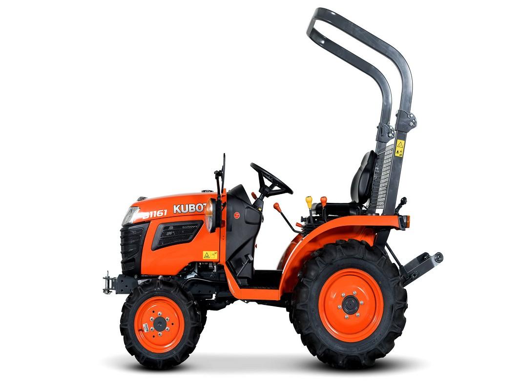 Traktor Kubota B1121 EC cesta